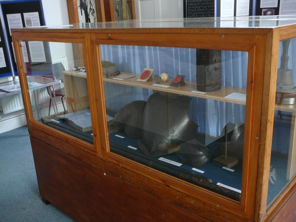 Photograph of a display cabinet