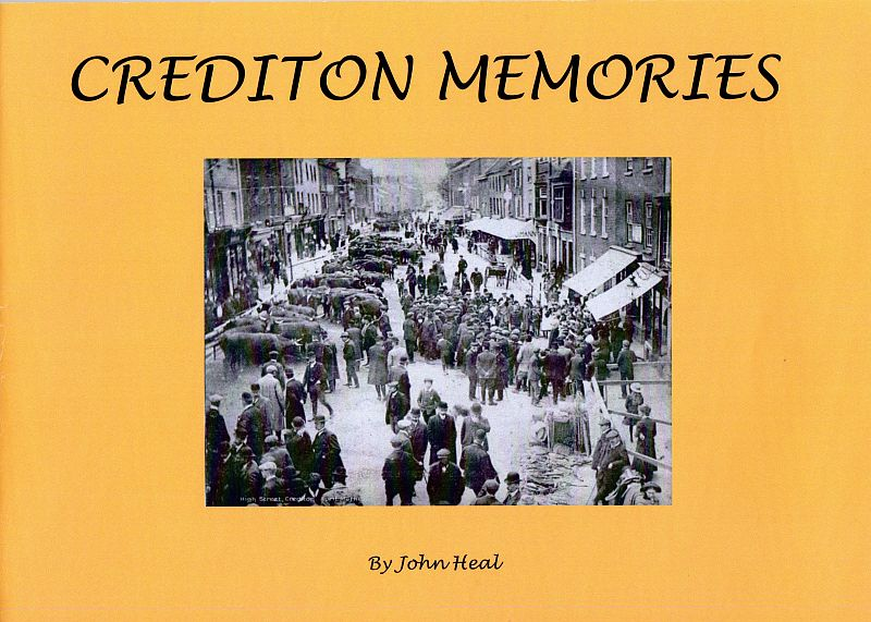Cover of book 'Crediton Memories' by John Heal