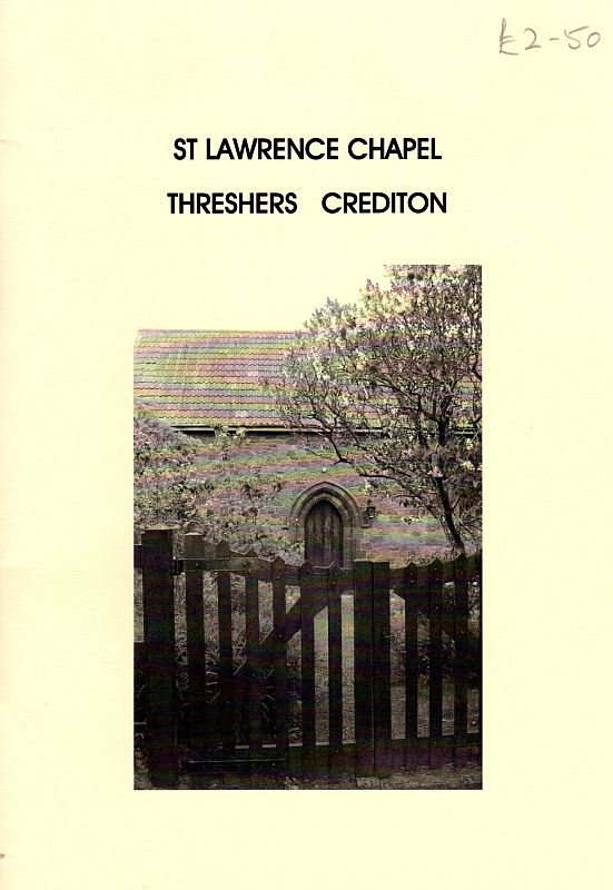 Cover of guide to St Lawrence's Chapel