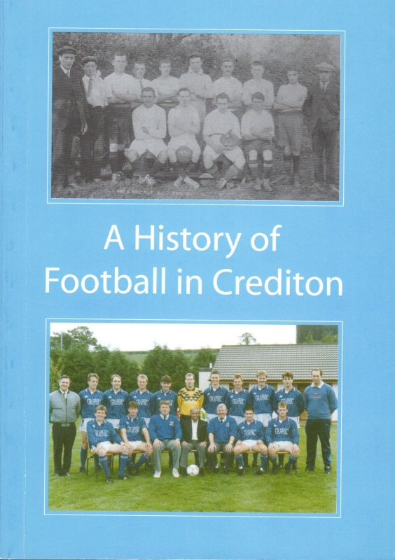 Book cover for 'A History of Football in Crediton'