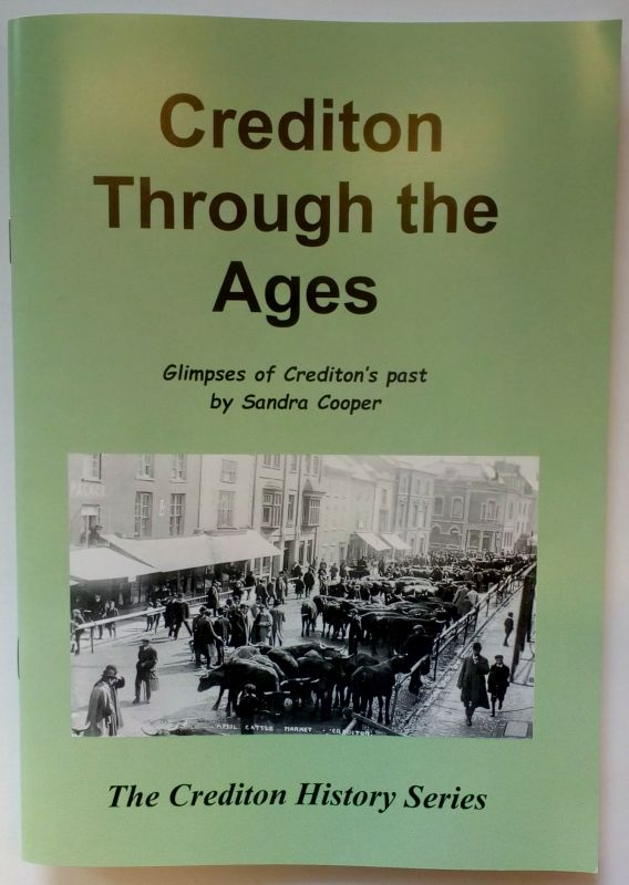Cover of book Crediton Through the Ages by Sandra Cooper